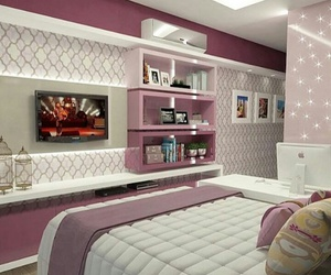 decoracao, pink, and rosa image