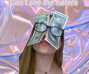 90s, glasses, and haters image