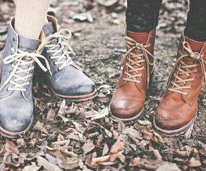 boots, autumn, and fall image