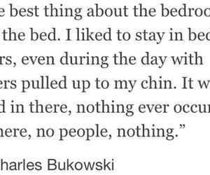 bed and quote image