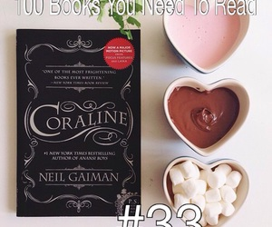 book, books, and coraline image