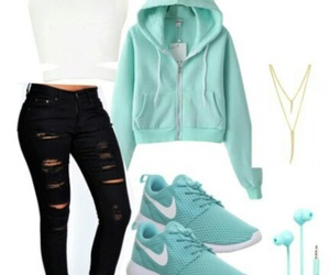 girl and Polyvore image