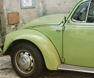 car, green, and italy image