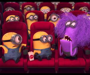 minions, purple, and despicable me image