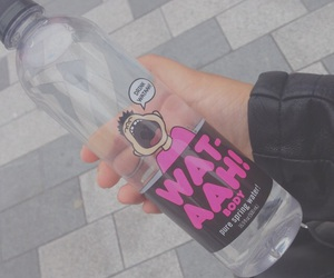 pink, water, and wataah image