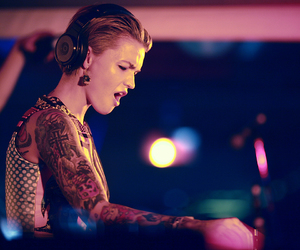 couple, music, and ruby rose image