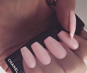 chanel, nail art, and nail polish image