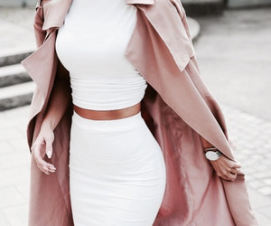 fashion, white, and style image