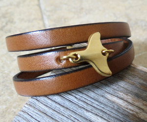 mens jewelry, men leather bracelet, and boyfriend gift image