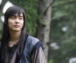 warrior baek dong soo, yeo wu, and yeo woon image