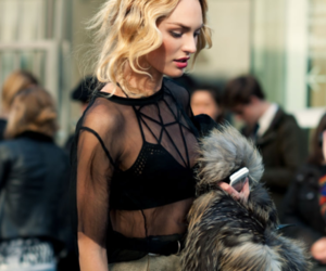fashion, hair, and candice swanepoel image