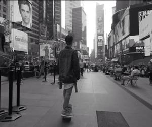 skate, justin bieber, and new york. image