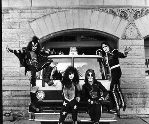 70s, gene simmons, and paul stanley image