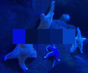 blue, blue glow, and aesthetic image