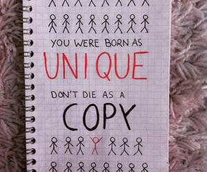 copy and unique image