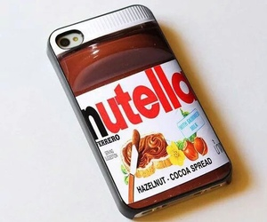 nutella, iphone, and case image