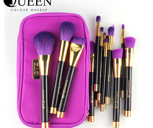 cosmetic, makeup, and brush set image