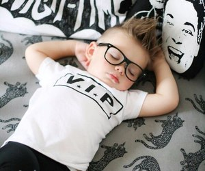 baby, fashion, and glasses image