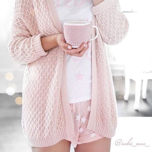 coffee, pink, and girly image