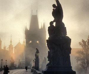 prague, travel, and czech republic image