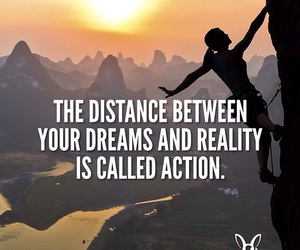 Action, ambition, and distance image