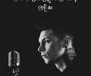 andy biersack, black & white, and music image