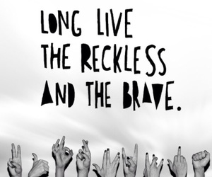 all time low, brave, and grunge image