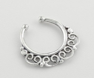 jewelry, nose ring, and septum ring image