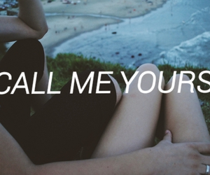 couple, grunge, and call me yours image