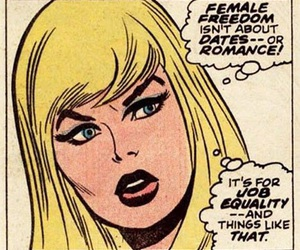comic, feminism, and feminist image