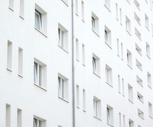 white, grunge, and building image