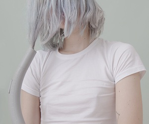 pale and girl image