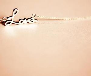 love, necklace, and photography image
