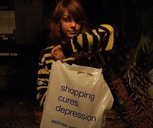 shopping, depression, and cory kennedy image