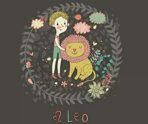 Leo and sign image
