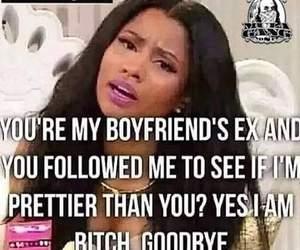 ex, bitch, and boyfriend image