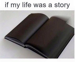 black, book, and my life image