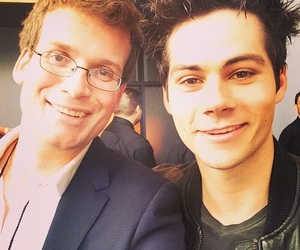 dylan o'brien, john green, and teen wolf image