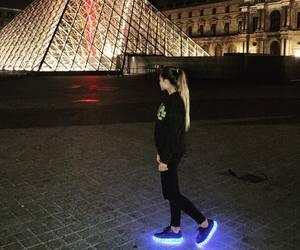 black, paris, and shoes image