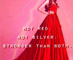 red, silver, and red queen image