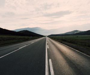 on the road image