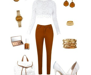 brown, fashion, and look image