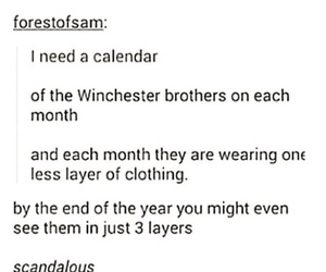 spn and tumblr post image