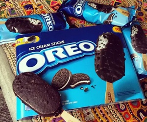 oreo, ice cream, and yummy image