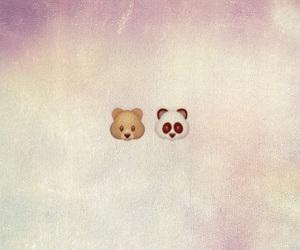 bear, couple, and panda image
