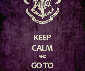 harry potter, hogwarts, and keep calm image