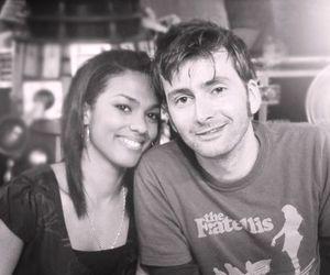 david tennant, doctor who, and martha jones image