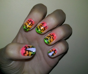 colours, nails, and colores ​ image