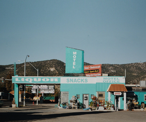 cool, motel, and Nevada image