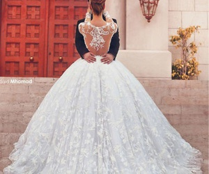 big, gorgeous, and wedding dress image